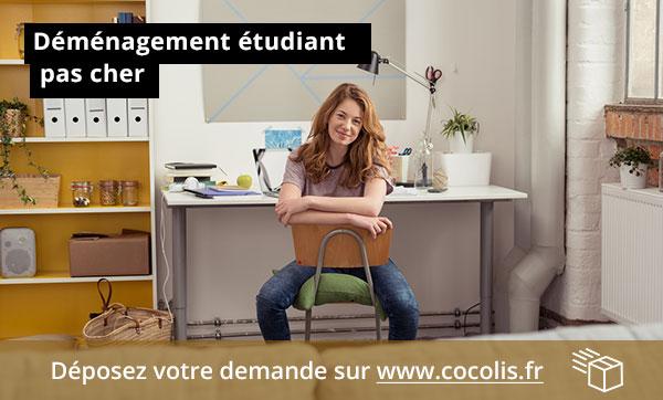 Bon plan déménagement étudiant pas cher