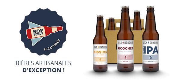 Bières artisanales HopBuddy