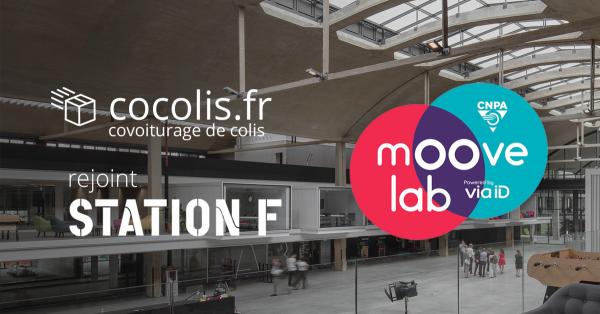 Cocolis intègre le Moove Lab à Station F