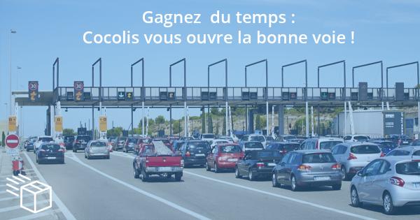 Cocolis vous ouvre la bonne voie avec VINCI Autoroutes