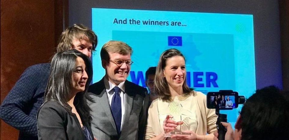 Cocolis remporte le European Startup Prize for mobility 2018