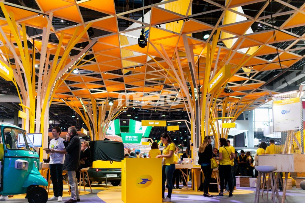 Stand La Poste Vivatech - Photo Presse Citron ©