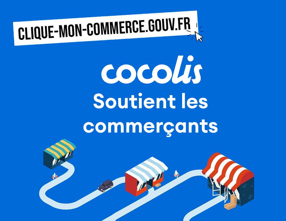 Cocolis soutient les commerçants