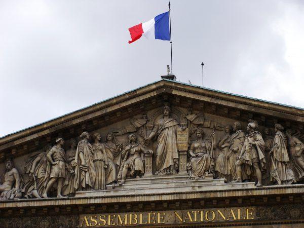 Fronton de l'Assemblée Nationale