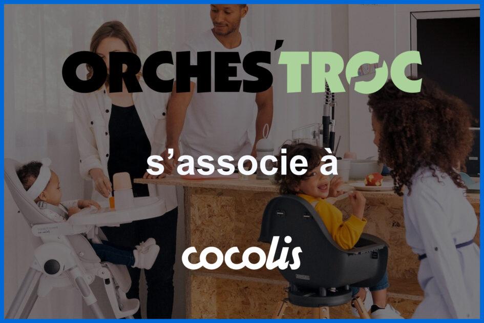 Orches'troc s'associe à Cocolis sur le transport matériel de puériculture d'occasion